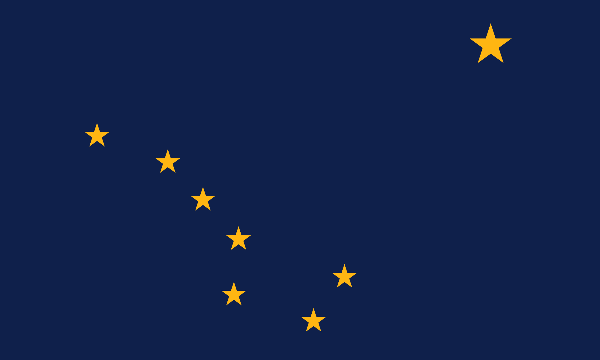 Alaska flag | Wintergreen